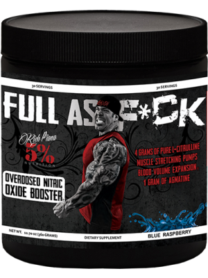 Rich Piana 5% Nutrition Full As Fuck 30 Servings