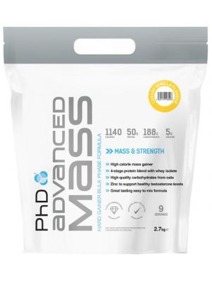 PhD Nutrition Advanced Mass 5.4kg [Call 0114 438 8856 Before 3pm To Order.. Collect In-Store NEXT DAY!]