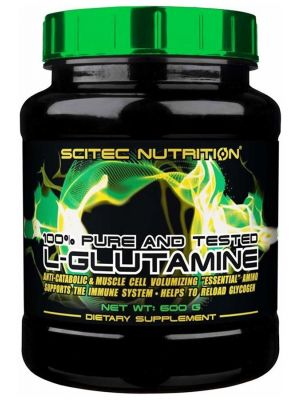 Scitec Nutrition 100% L-Glutamine 600 g – 100 servings