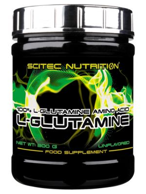 Scitec Nutrition 100% L-Glutamine 300 g – 50 servings