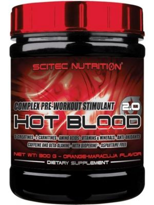 Scitec Nutrition Hot Blood 3.0 Pre-Workout