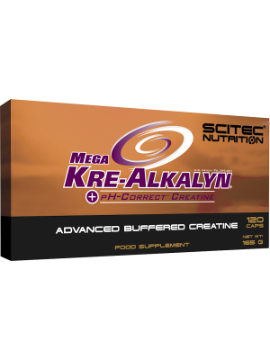 Scitec Nutrition MEGA KRE-ALKALYN Advanced Buffered Creatine 120 capsules - 40 servings