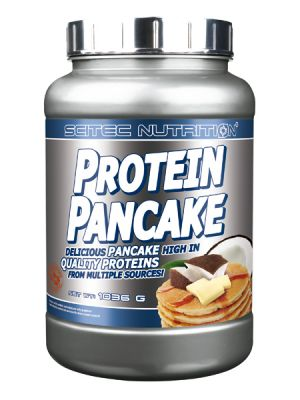 Scitec Nutrition PROTEIN PANCAKE Delicious pancake high in quality proteins from multiple sources!