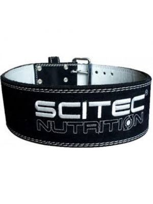 Scitec Nutrition Super Powerlifter Heavy Duty Leather Weight Lifting Belt