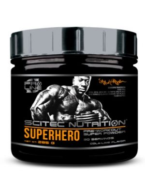 Scitec Nutrition SUPERHERO Pre–workout stimulant super powder 285g - 30 servings